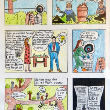 Klima-Comic,-gestaltet-in-der-Projektwoche-2018